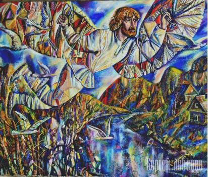 Картина  на холсте Икар