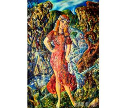 Картина  на холсте Юдифь