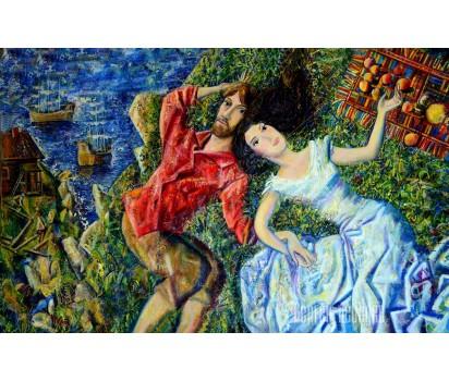 Картина на холсте Юнона и Авось