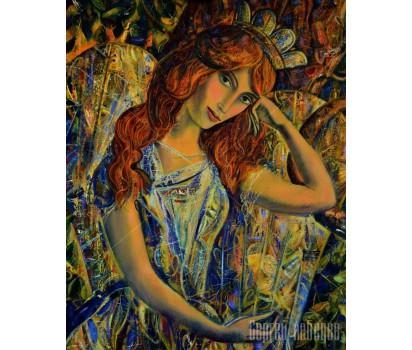 Картина на холсте Сирин