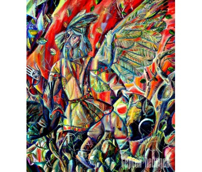 Картина на холсте Шаман