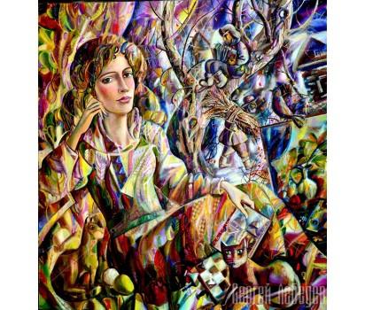 Картина на холсте Меланхолия