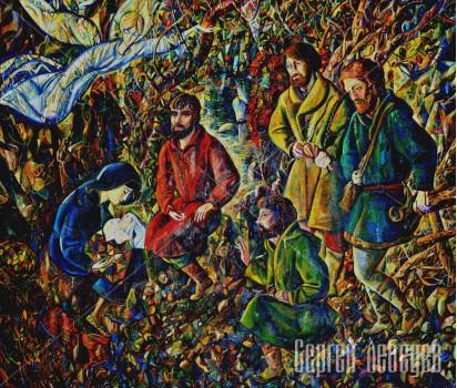 Картина  на холсте Пастухи