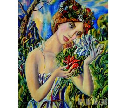 Картина на холсте Флора
